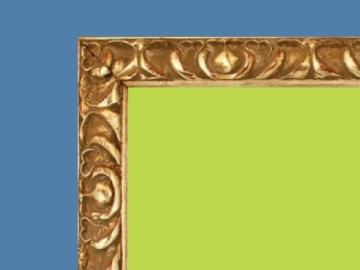 cropped frame